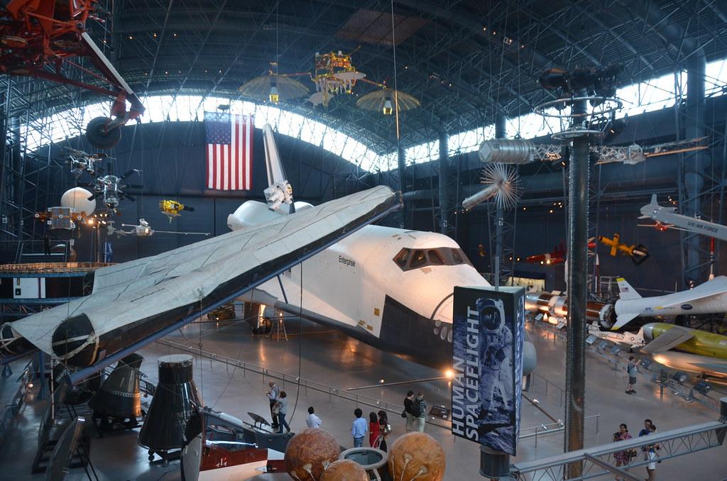 Steven F Udvar Hazy Center Space Shuttle Enterprise Sta Flickr