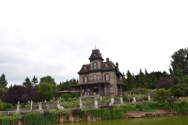 Phantom Manor from Big Thunder Mountain