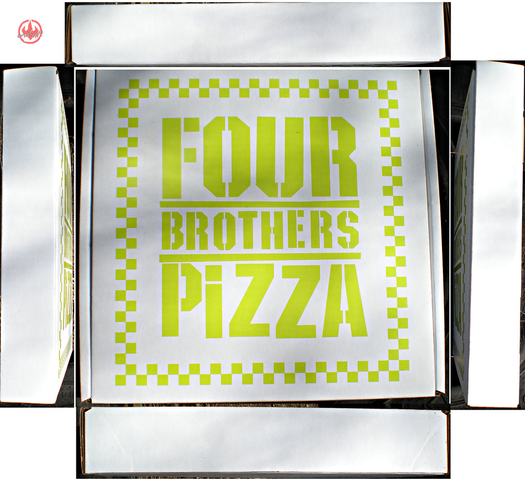 """Nickelodeon TMNT Fan Preview; """"FOUR BROTHERS PIZZA"""" - Consolation Pizza Box iii (( 2011 )) by tOkKa"""