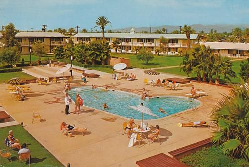 arizona vintage postcard motel suncity kingsinn delwebbs