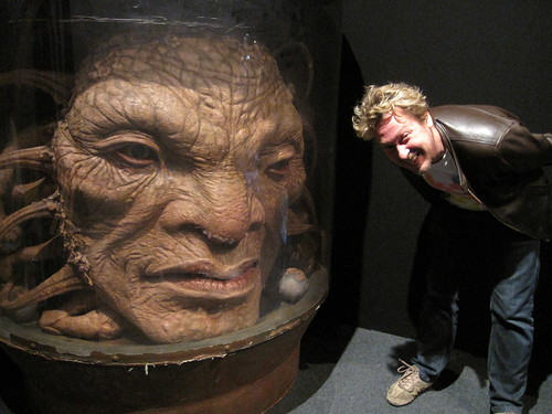The Face of Boe | Doctor Who Experience, London. | Bronwen Lee | Flickr