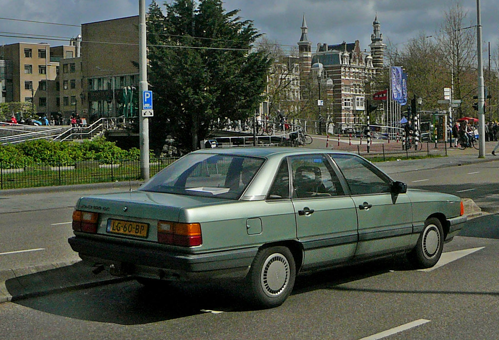Audi 100, 1984, Amsterdam, Stadhouderskade   Jacques ...