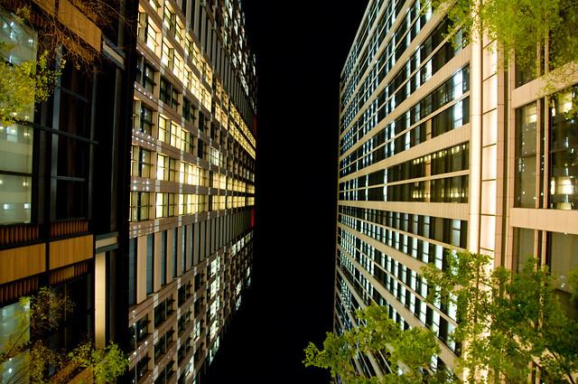 Urban Black Sky