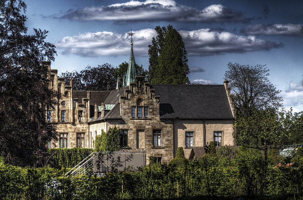 Schloss Ippenburg, Bad Essen | A view from the back side ...