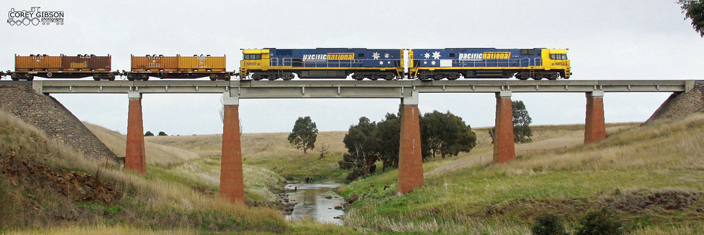 NR52 & NR69 crossing the Mt Emu Creek by Corey Gibson