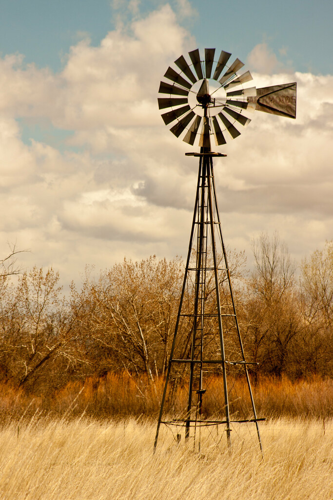 Old West Windmill