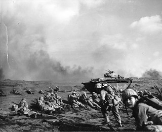 Launching the Assault, Iwo Jima, 1945 | by Archives Branch, USMC History Division