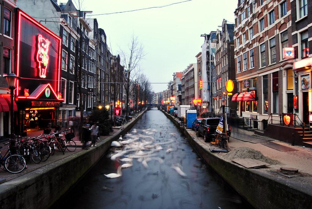 Amsterdam. De Wallen.