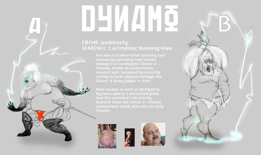 Running Man Remake: DYNAMO v1 0 | elizagauger | Flickr