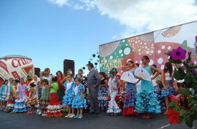 Pasarela andaluza en la IV Feria de Abril en Las Palmas de Gran Canaria 03