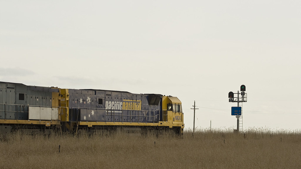 Freight at Wingeel by michaelgreenhill