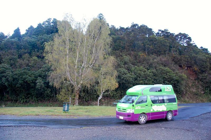 Este es el resultado de alquilar una caravana en Nueva Zelanda