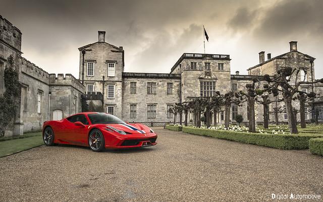 The Ferrari 458 Speciale..