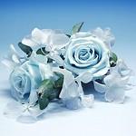 コサージュ・スカイブルー(Sky Blue Corsage):flower arrangement