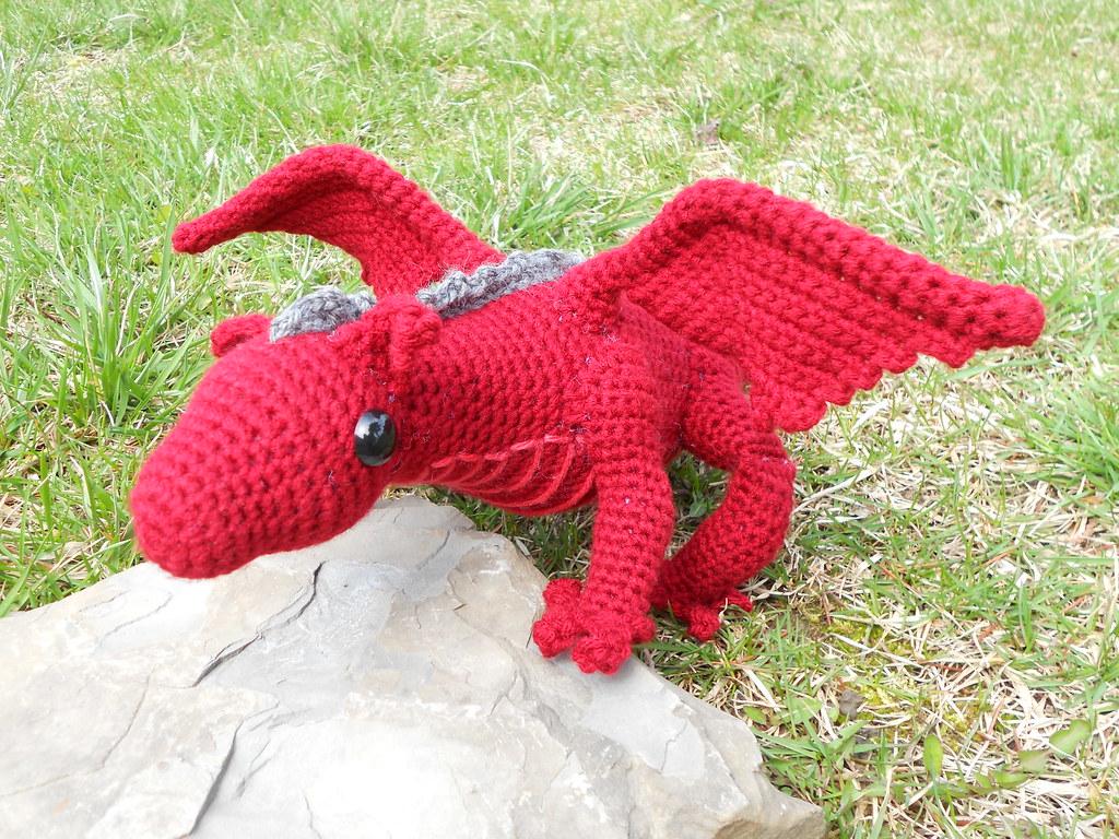 Tiny Dragon Amigurumi   Crochet dragon, Crochet blog, Cute crochet   768x1024
