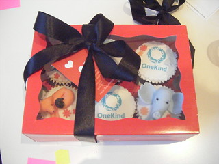 Auctioned Cupcakes by Tea Loves Cake