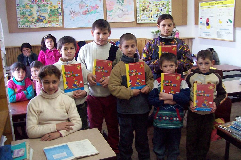 Kinder Garden: Students At A Roma School In Ukraine