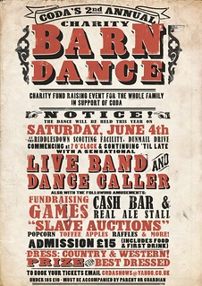 CODA Barn Dance | Unsolicited concept poster for ...
