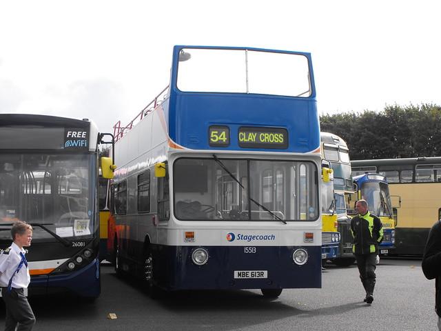 15513 (4), MBE 613R, Daimler Fleetline