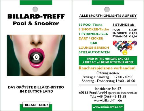 Billard In Frankfurt