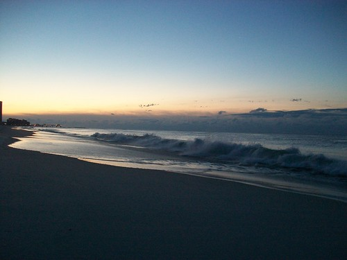 ocean morning sky beach water clouds spring sand waves gulf alabama sunrises orangebeach