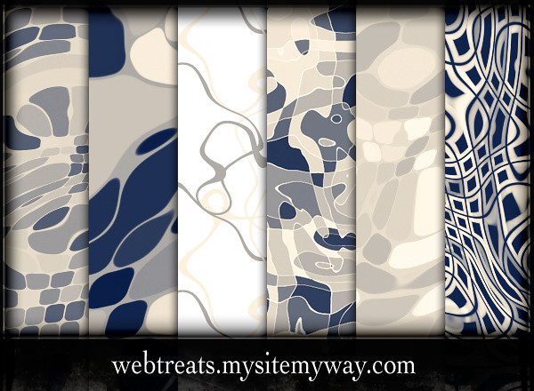 Webtreats Abstract Wavy Photoshop Patterns | Free combo pack… | Flickr