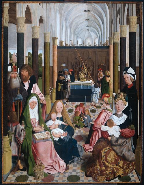 Geertgen tot Sint Jans - The holy kinship 1a (1490)
