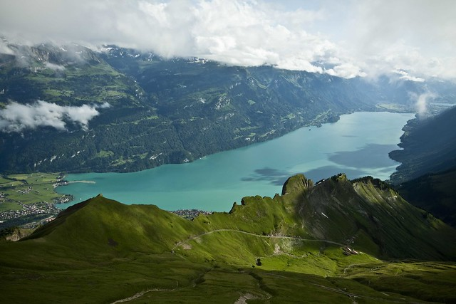 View from Rothorn Kulm