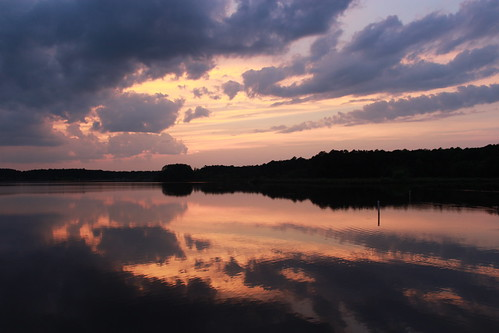 sunset reflections northcarolina lakecrabtree crazylove