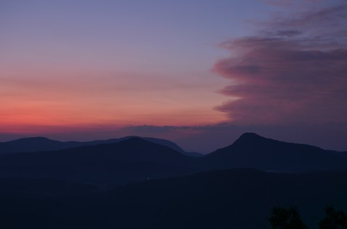 sunrise dawn northcarolina appalachia blueridgemountains daybreak highlandsnc highway64 ushwy64 rhodesbigview