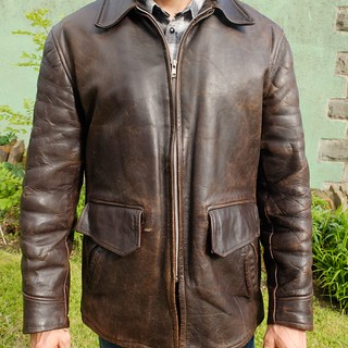 1940s motorcycle jacket | by Porcelina's World