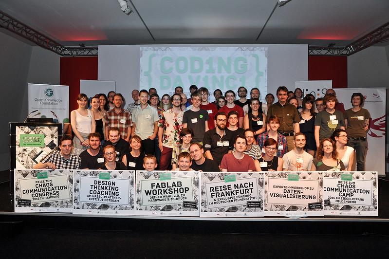 Coding da Vinci 2015 - Preisverleihung