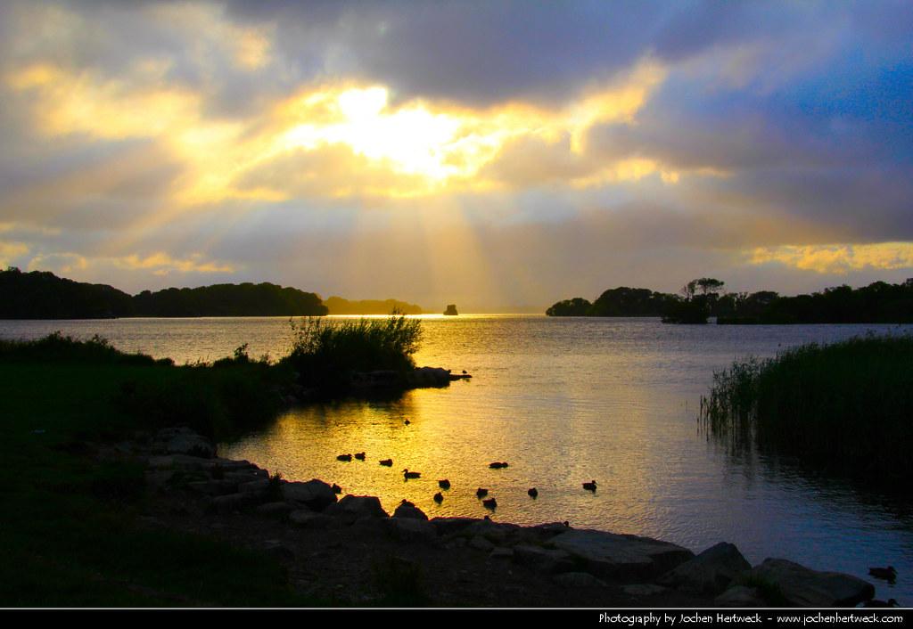 Sunset, Killarney National Park, Ireland