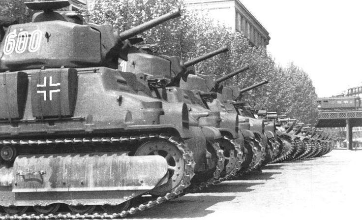 Somua S35 Tanks