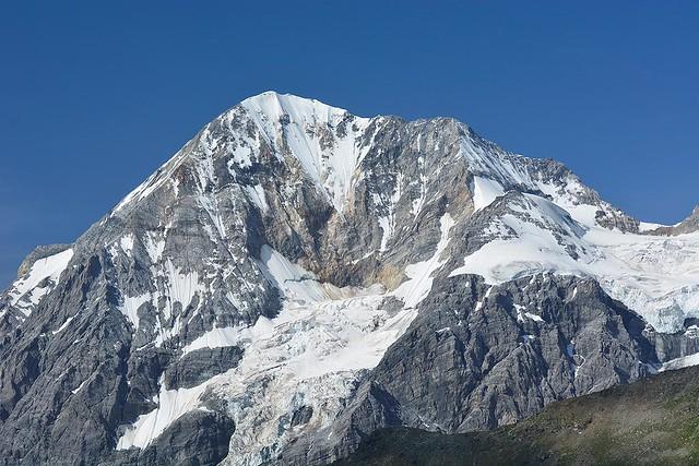 Königsspitze mit Gletscher