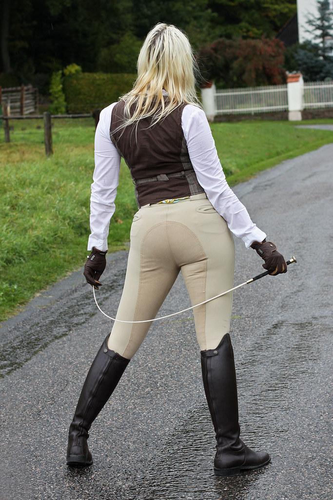 Sexy jodhpurs, girls in tight riding boots, boot fetish