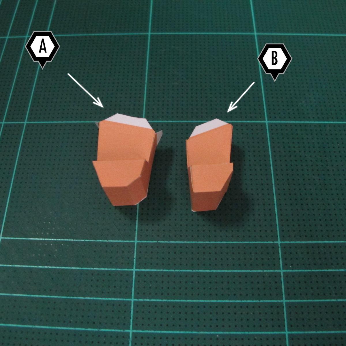 วิธีทำโมเดลกระดาษตุ้กตา คุกกี้สาวผู้ร่าเริง จากเกมส์คุกกี้รัน (LINE Cookie Run – Bright Cookie Papercraft Model) 018