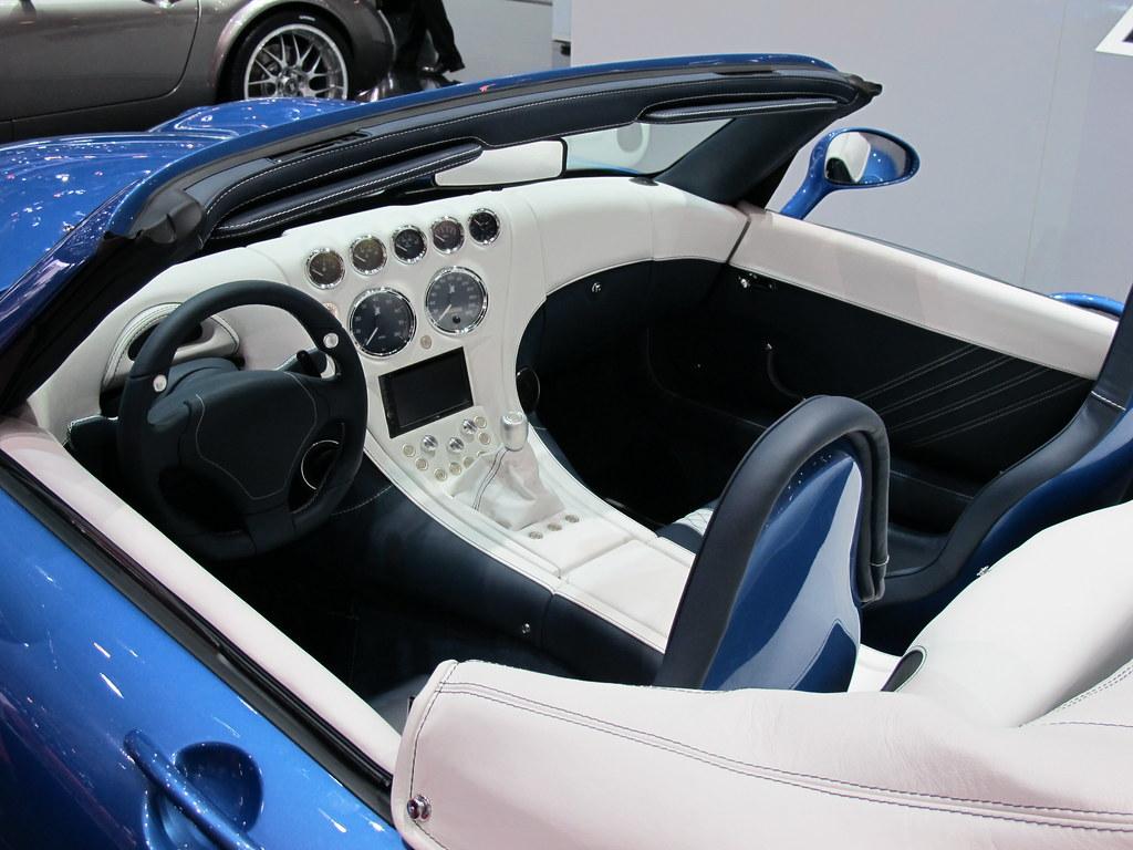 Wiesmann Mf5 Roadster Interior Alan Gore Flickr