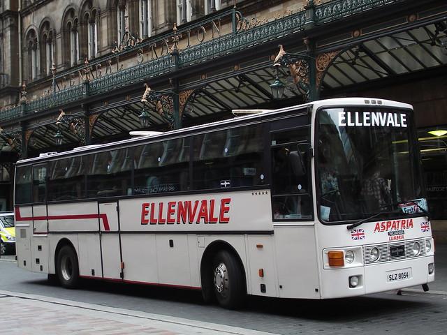 SLZ8054 Scania Vanhool Ellenvale Aspatria
