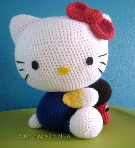 Hello Kitty Crochet: Supercute Amigurumi Patterns for Sanrio ... | 500x455