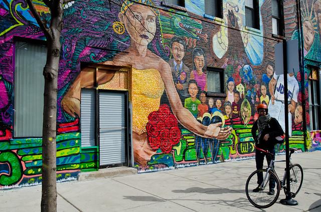 Photographing Pilsen Murals