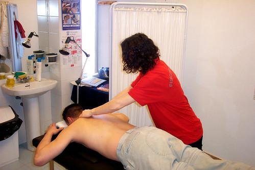 Masajes deportivos y fisioterapia