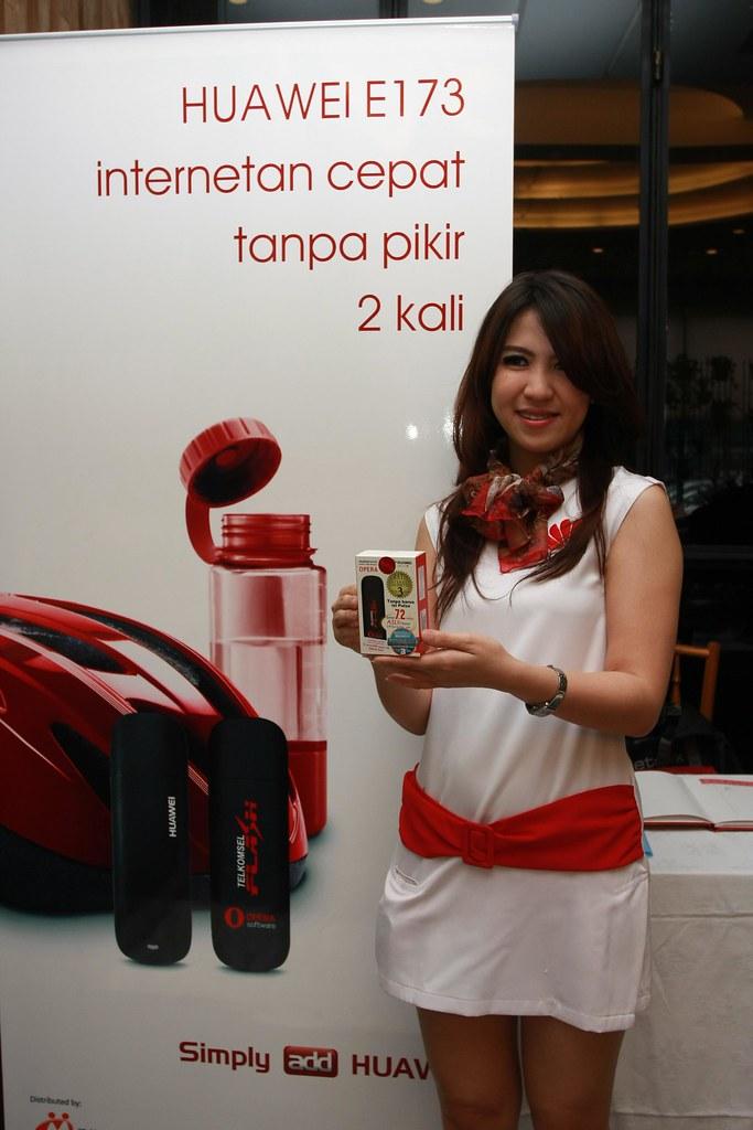 Huawei E173 Modem Launch in Jakarta, Indonesia