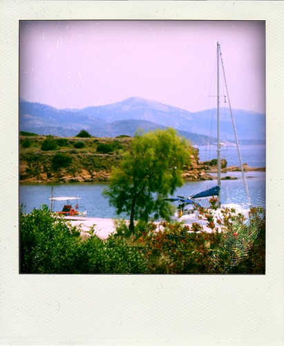trip travel summer boats harbor view ourbalconyview chios sailingboat limnia χίοσ chiosisland poladroids greecethroughmyeyes summer2011 sisterhoodoftravelingbats travelingbatsadventures λήμνια