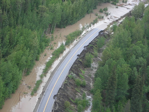 Highway 97 flooding - Pine Valley Subdivision | www.th.gov ...