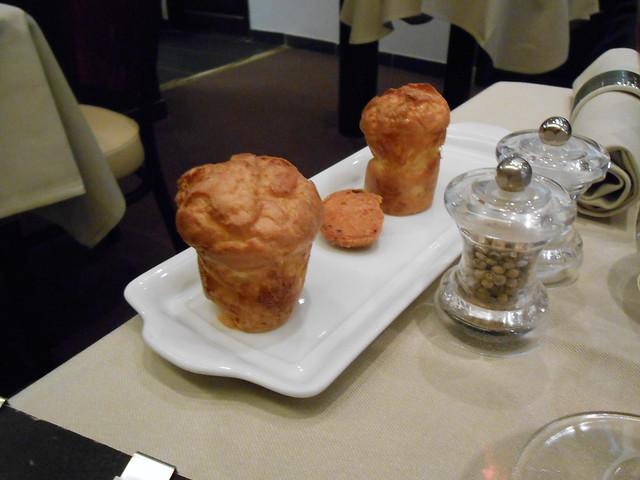 Bread plate at Dominique Bouchet
