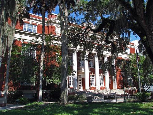 building florida landmark historic americana courthouse fl roadside oldbuilding hernando brooksville hernandocounty