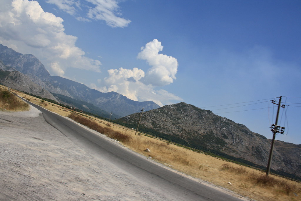 On the way back to Shkodra