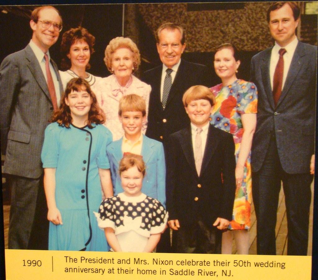 Julie And Pat Nixon S: Pat Nixon Centennial - 50th Wedding Anniversary 1990