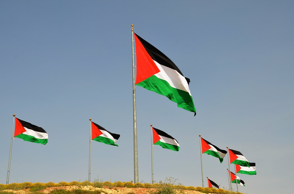 Palestinian flag, From CreativeCommonsPhoto